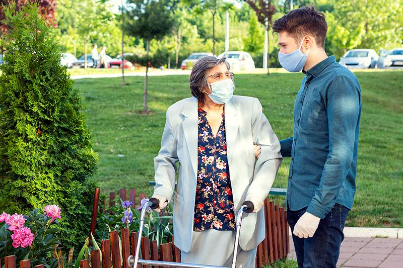How Do You Keep Seniors Safe During the Pandemic and Still Get Out And About?