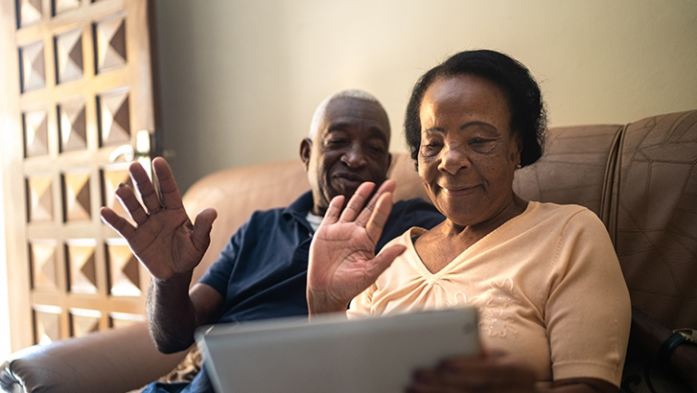 Tips for Caregivers: Assessing the Wellbeing of Seniors from a Distance