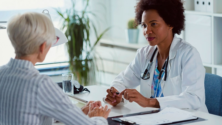 Discussing a Possible Alzheimer's Diagnosis with a Doctor